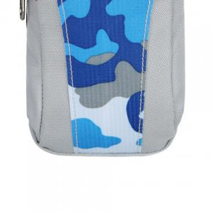 Outdoor Camouflage Lightweight Arm Bag - BLUE CAMOUFLAGE