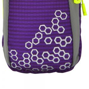 Outdoor Round Letter Pattern Arm Bag - PURPLE