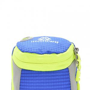 Outdoor Round Letter Pattern Arm Bag - BLUE