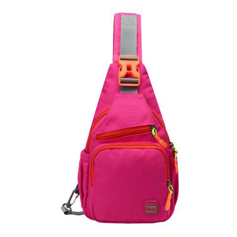 Outfit Outdoor Multipurpose Waterproof Chest Bag - ROSE RED  Mobile