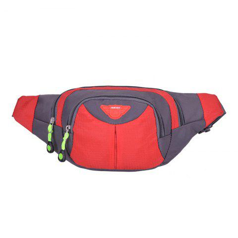 Buy Outdoor Multipocket Nylon Waterproof Waist Bag