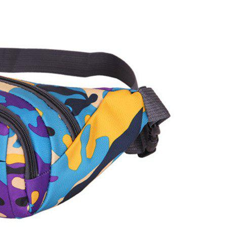 Buy Outdoor Waterproof Camouflage Waist Bag - PURPLE  Mobile
