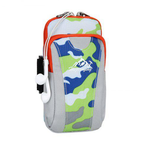 New Outdoor Camouflage Lightweight Arm Bag - GREEN  Mobile