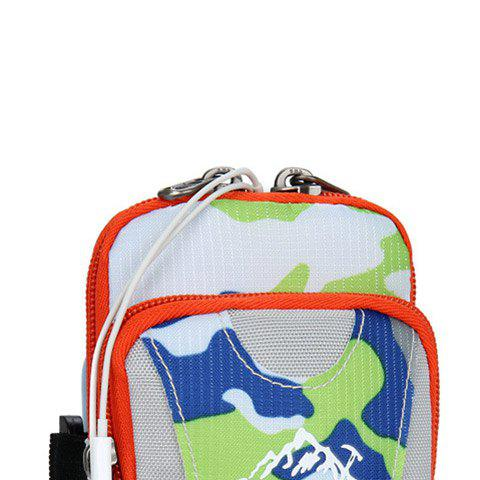 Store Outdoor Camouflage Lightweight Arm Bag - GREEN  Mobile