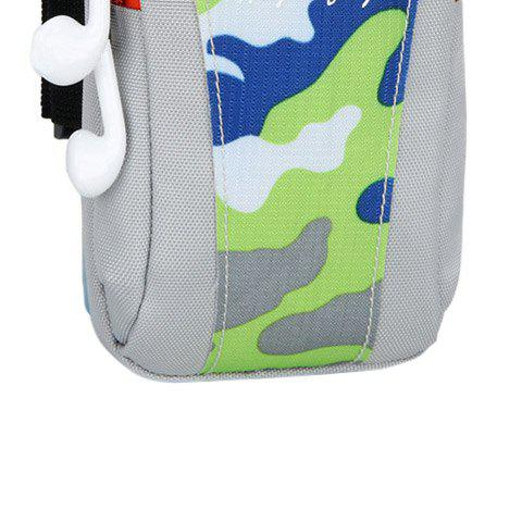 Shops Outdoor Camouflage Lightweight Arm Bag - GREEN  Mobile