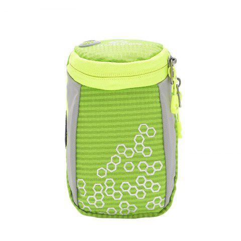 Latest Outdoor Round Letter Pattern Arm Bag - GREEN  Mobile