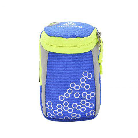 Affordable Outdoor Round Letter Pattern Arm Bag BLUE