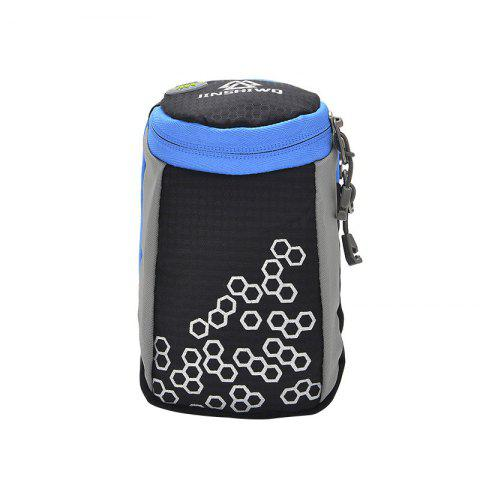 Unique Outdoor Round Letter Pattern Arm Bag - BLACK  Mobile