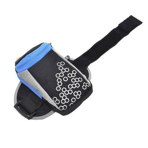 Outfit Outdoor Round Letter Pattern Arm Bag - BLACK  Mobile