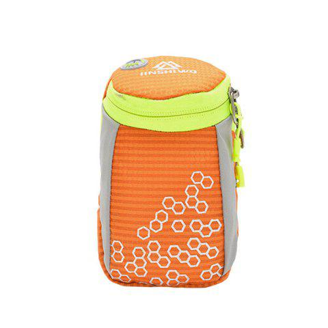 Cheap Outdoor Round Letter Pattern Arm Bag ORANGE