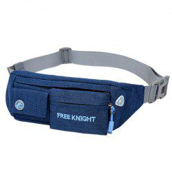 Freeknight Nylon Headphone Jack Sac imperméable à la taille -