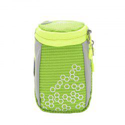 Outdoor Round Letter Pattern Arm Bag - GREEN