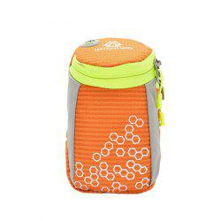 Outdoor Round Letter Pattern Arm Bag - ORANGE
