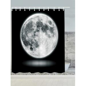 Moon Fabric Waterproof Shower Curtain