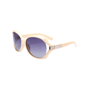 Polarized Wide Wrap Frame Sunglasses