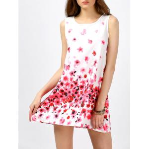 Sleeveless Floral Going Out Dress