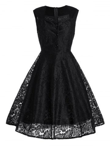 Online Short Lace Skater Formal Swing Cocktail Dress