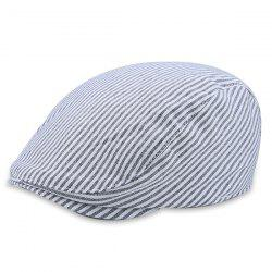 Multipurpose Retro Pinstriped Newsboy Hat