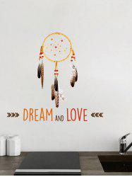 DEAM AND LOVE Dreamcatcher Decorative Wall Sticker