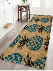 Soft Absorbent Pineapple Pattern Area Rug