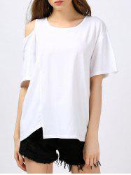 Cold Shoulder Tunic Tee
