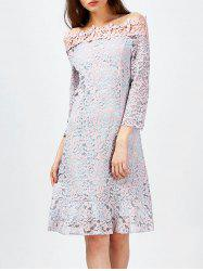 Off The Shoulder Lace Dress