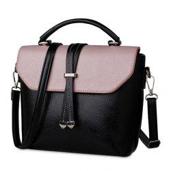 Color Block Cross Body Handbag