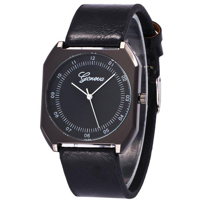 Best Faux Leather Strap Number Wrist Watch