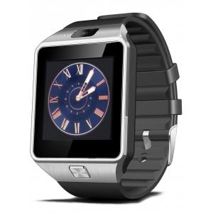 2016 New DZ09 Bluetooth Smart Watch with Sleep Monitor Pedometer Camera Single SIM - Black