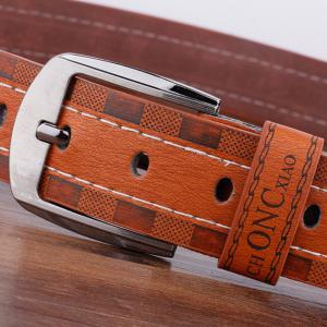 Choncxiao Pin Buckle Retro Wide Belt -