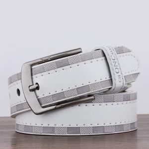 Choncxiao Pin Buckle Retro Wide Belt