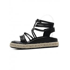 Espadrilles Tie Up Sandals -