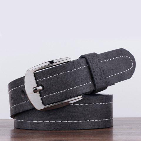 Chic Choncxiao Pin Buckle Retro Wide Belt