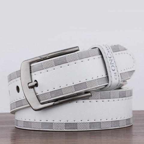 Latest Choncxiao Pin Buckle Retro Wide Belt