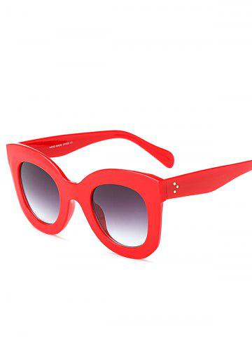 New Sunproof Outdoor Butterfly Sunglasses RED