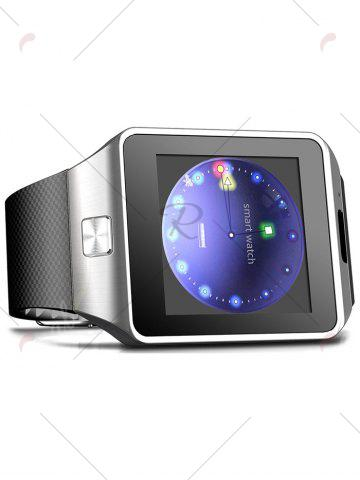 Buy 2016 New DZ09 Bluetooth Smart Watch with Sleep Monitor Pedometer Camera Single SIM - BLACK  Mobile