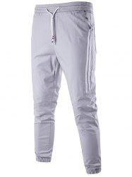 Stripe Trim Jogger Pants