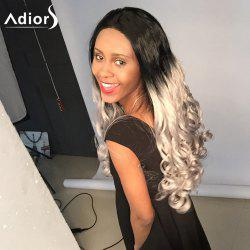 Adior Lace Front Long Center Parting Wavy Two Tone Synthetic Wig