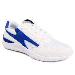 Breathable Suede Insert Athletic Shoes