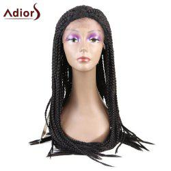 Adiors Lace Front Thick Three-ply Braids Long Synthetic Wig