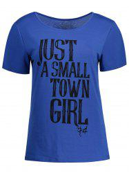 Short Sleeve Casual Graphic Tee -