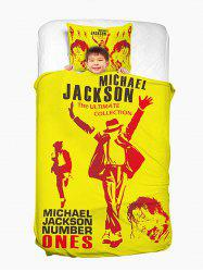 MICHAEL JACKSON Washable Household Duvet Cover and Pillowcase