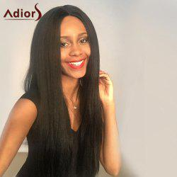 Adiors Long Middle Part Lace Front Thick Straight Synthetic Wig
