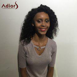 Adiors Long Fluffy Lace Front Curly Synthetic Wig