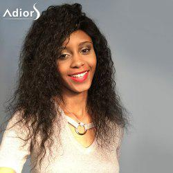 Adiors Long Fluffy Dry Out Curly Lace Front Synthetic Wig