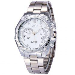 Alloy Strap Tachymeter Quartz Analog Watch