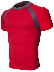 Raglan Sleeve Slim Fit T-Shirt