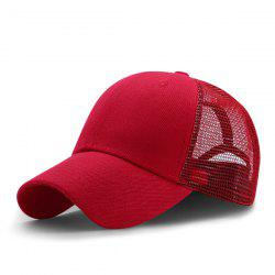 Breathable Mesh Insert Outdoor Baseball Hat