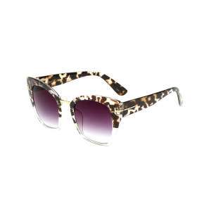 UV Protection Metallic Square Mirrored Reflective Sunglasses