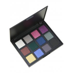 12 Colours Shimmer Matte Powder Eyeshadow Palette - #04